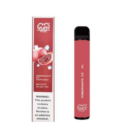 PUFF PLUS POMEGRANATE ICE DISPOSABLE DEVICE